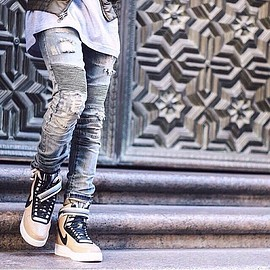 Embellish NYC - BIKER DENIM