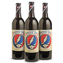 Wines that Rock - 2009 Grateful Dead Steal Your Face Red Wine Blend 3-Bottle Pack