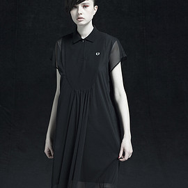 MINTDESIGNS+FRED PERRY - Layered Shirt Dress