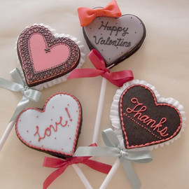 THUMB AND CAKES - Valentine Cookie