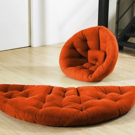 Colorful and Flexible Nido Foldable Futon Design