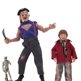 NECA - The Goonies – 8″ Clothed Action Figures – Sloth and Chunk 2-Pack