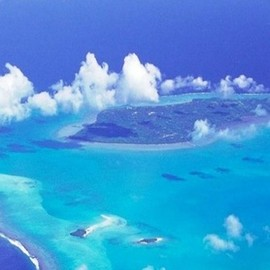 Cook Islands - Blue