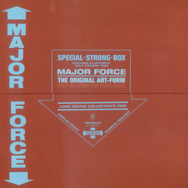 Various Artists - MAJOR FORCE-The Original Art-Form 12inch BOX SET (Mo' wax)