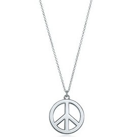 Tiffany & Co. - Tiffany & Co. Peace Sign Pendant