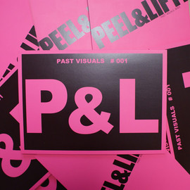 PEEL&LIFT - PEEL&LIFT ZINE PAST VISUALS#001