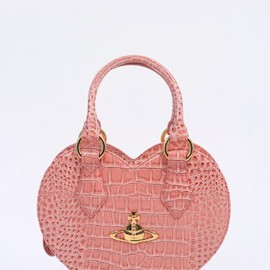 Vivienne Westwood - Vivienne Westwood Accessories New Chancery Eco Heart Bag - Pink