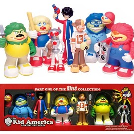 ALIFE - Part one of the alive collection / Kid America Aventure Hour Set