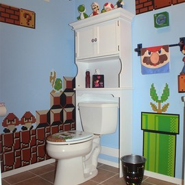 Nintendo - bathroom