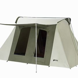 10x10 ft. 6-Person Flex-Bow Canvas Tent