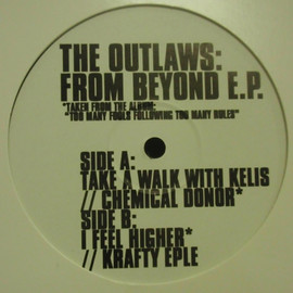 THE OUTLAWS - FROM BEYONDE E.P. / WHITE
