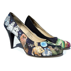 Jilliann Silva - Custom HAND Painted Heels - STAR WARS
