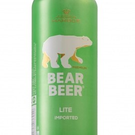 HARBOE - Bear Beer Lite Lager 4.2%