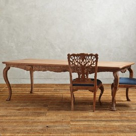 Anthropologie - Handcarved Menagerie Dining Table