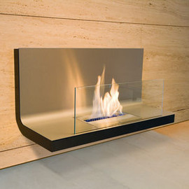 Radius Design - WALL FLAME STAINLESS STEEL / BLACK