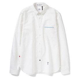 Bedwin - Brian Buttow Down White Oxford Shirt