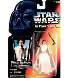 kenner - STAR WARS Power of Force Red Card Princess Leia Organa Action Figure