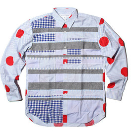 COMME des GARCONS SHIRT - 2012 Spring/Semmer Mix Pattern Shirts