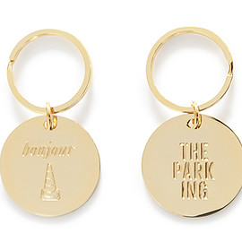 bonjour records - bonjour records x The Park・ing Key Chain