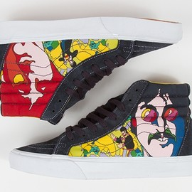 VANS - The Beatles Team With Vans for 'Yellow Submarine' Shoes SK8-HI