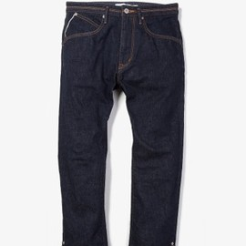 nonnative - DWELLER ANKLE CUT 5P JEANS - COTTON 13oz SELVEDGE DENIM OW|PANTS