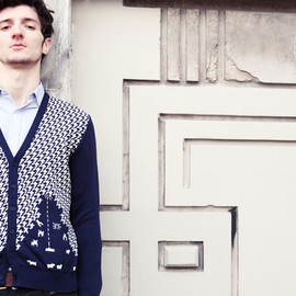 "Monsieur Lecenaire - Space ""Sheep Invaders"" knitwear sweater"