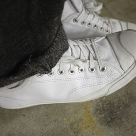 Converse - Jackpurcell/Leather wt low