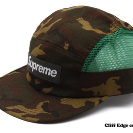 Supreme - Camo Side Mesh Camp Cap