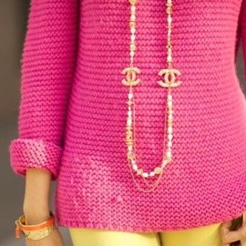 CHANEL - long necklace.