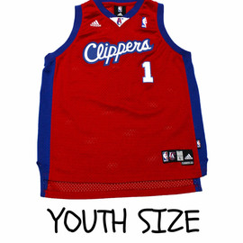 adidas - Adidas Los Angeles Clippers Baron Davis #1 NBA Jersey YOUTH Size Large