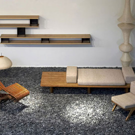 "Charlotte Perriand - Furniture for the ""Japan"" Exhibition, 2013"