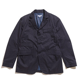 ENGINEERED GARMENTS - Andover Jacket-High Count Twill-Dk.Navy