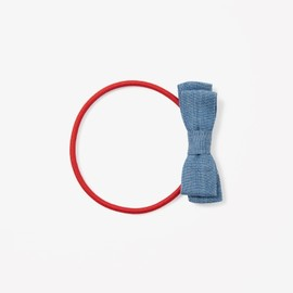 COS - Chambray bow hair elastic