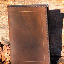 Inkleaf Leather Co - Field Notes Cover (Bison)