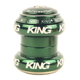"CHRIS KING - nothreadset 1 1/8"" (green)"