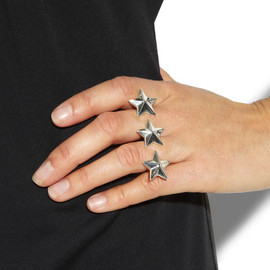 Maison Martin Margiela - Triple star ring