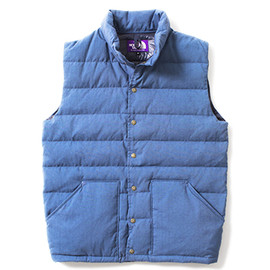 THE NORTH FACE PURPLE LABEL - Indigo Dyed Down Vest