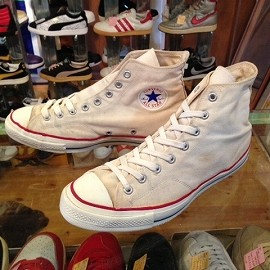 """converse - 「<used>60's converse CHUCK TAYLOR HI white""""made in USA"""" size:US11(29.5cm) 26800yen」販売中"""