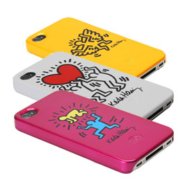 icover - キースヘリング iPhone 4 GLOSSY CASE