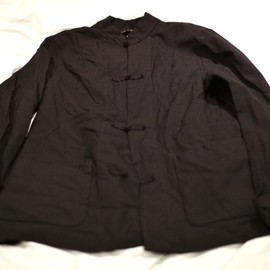 COMME des GARCONS BLACK - CHINA JACKET