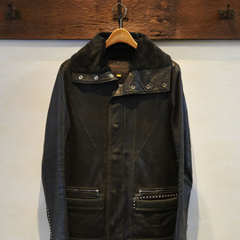 UNDERCOVER - Studded Leather Jacket