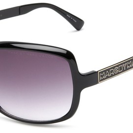 MARC BY MARC JACOBS - MMJ 140 sunglasses (Black Gold w/ Dark Gray Gradient Lens)