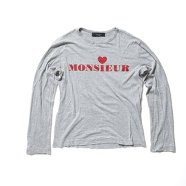 VIKTOR & ROLF - MONSIEUR Long Sleeve Tshirt
