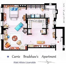 Carrie's apartment - Carrie's apartment
