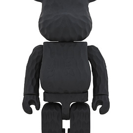 MEDICOM TOY - BE@RBRICK カリモク fragmentdesign 1000% carved wooden