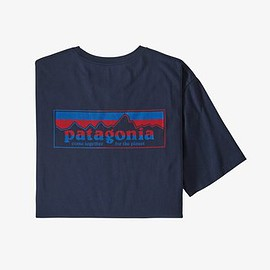 patagonia - Men's Together for the Planet Logo Organic T-Shirt - New Navy (NENA)