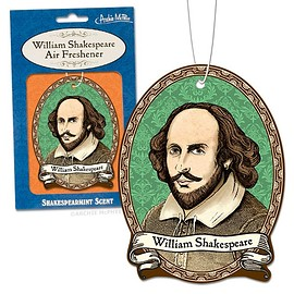 Archie McPhee - William Shakespeare Air Freshener