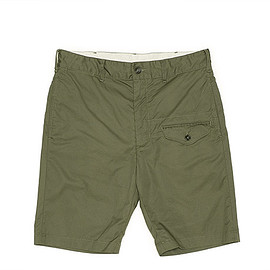 ENGINEERED GARMENTS - Ghurka Short-High Count Twill-Olive