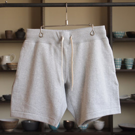 YAECA - Sweat Short Pants #gray