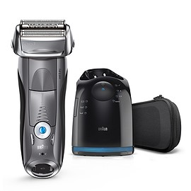 Braun - Braun Series 7 grey electric shaver with Clean&Charge Station